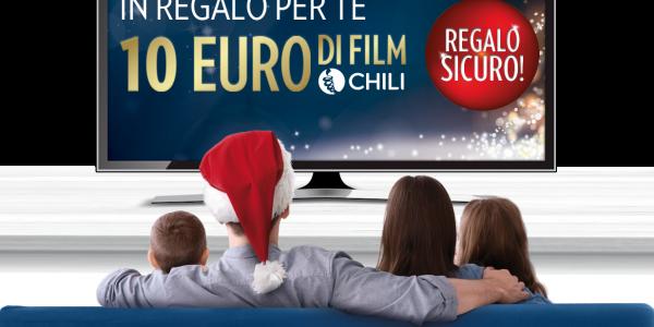 Lavazza e Chili: ogni 5€ di caffè ricevi 10€ di film e serieTv!