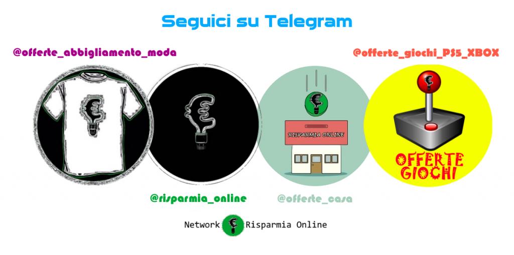 Canali di Offerte Telegram - Risparmia Online