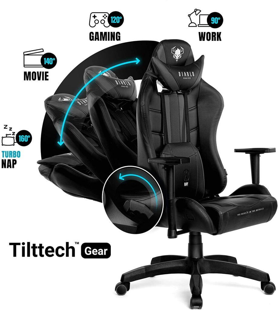 Recensione DIABLO X-RAY: La sedia da Gaming