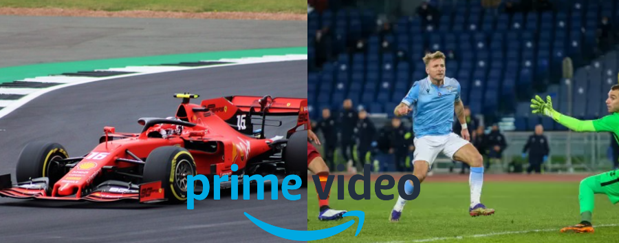 Amazon serie a e formula 1