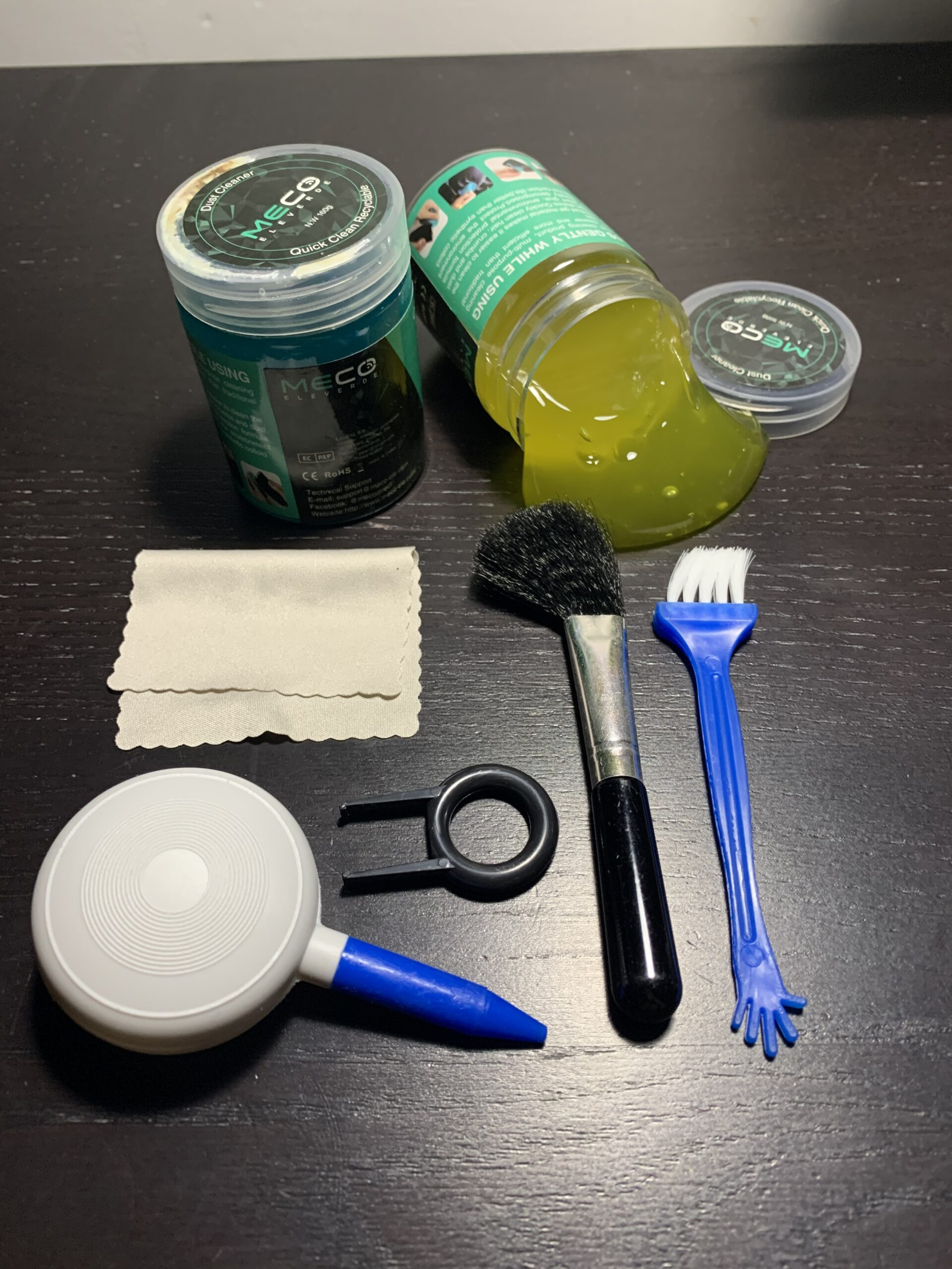 Meco Kit per Pulire la Tastiera