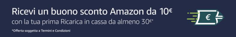 Ricevi un buono sconto Amazon da 10€ - risparmiare su Amazon